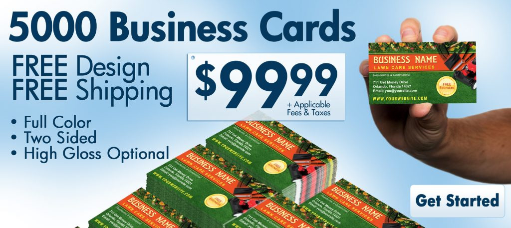 5000 business cards $100.00